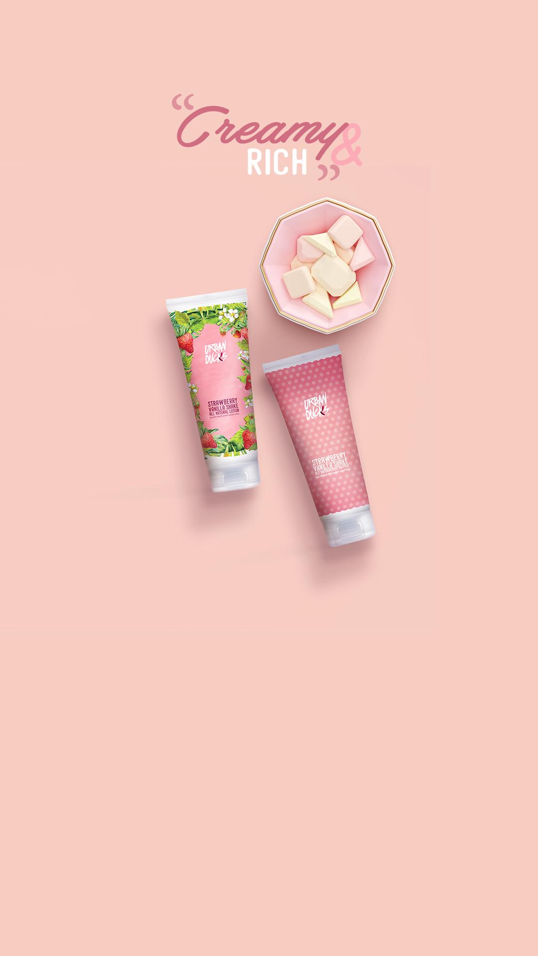 Strawberry Vanilla Shake Lotion