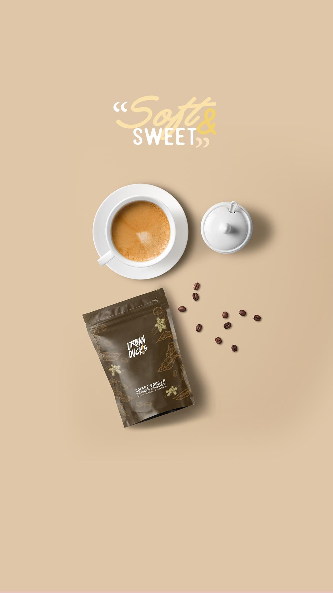 Coffee Vanilla Scrub