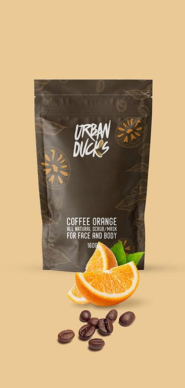 Coffee Orange Scrub